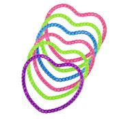 Armband hartjes gekleurd