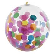 Gekleurde confetti ballonnen