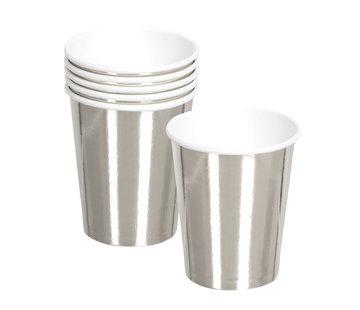 Papieren zilveren bekers