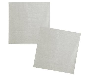 Papieren servetjes zilver