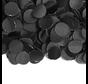 Zakje zwarte confetti 100 gram