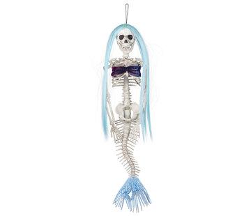 Skelet decoratie zeemeermin