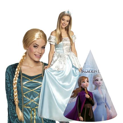 Frozen kostuums en accessoires