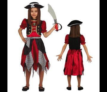 Piraten kostuum kind