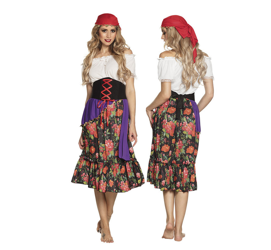 Dames Gypsy outfit