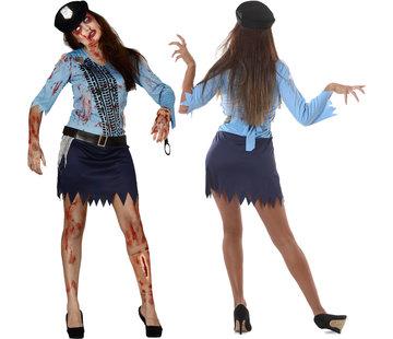 Zombie politie agente