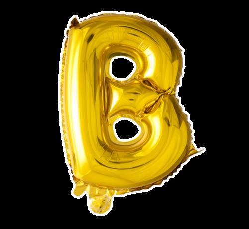 Folie ballon B goud