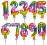 Cijfer ballonnen 13 cm