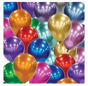 Groene  chrome ballonnen