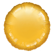 Blanco folie ballon rond goud