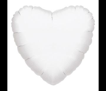 Blanco folie ballon hart