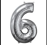 Cijfer ballon 6