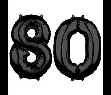 Zwarte cijfers 80