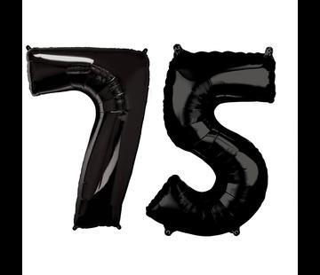 zwarte cijfers 75