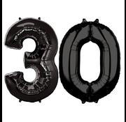 Ballonnen cijfers 30