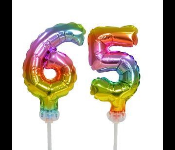 ballonnen cijfers 65