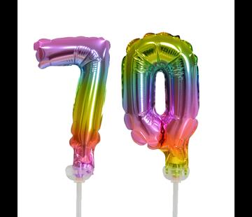 ballonnen cijfers 70