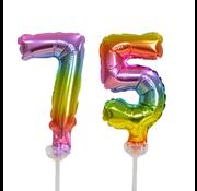 ballonnen cijfers 75