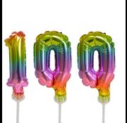 ballonnen cijfers 100
