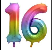 Cijfer Ballon 16