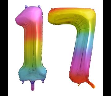 Cijfer Ballon 17