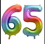 Cijfer ballon 65