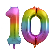Cijfer ballon 10