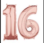 Rosé goud cijfer 16