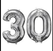 Helium ballonnen cijfers 30
