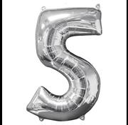 Ballon cijfer 5