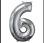 Ballon cijfer 6