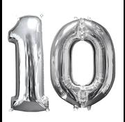 Ballon cijfer 10