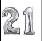 Ballon cijfer 21