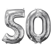 Ballon cijfer 50