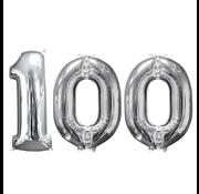 Ballon cijfer 100