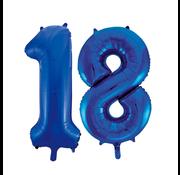 Folie ballonnen 18