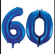 Folie ballonnen 60
