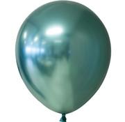 Groene  chroom ballonnen
