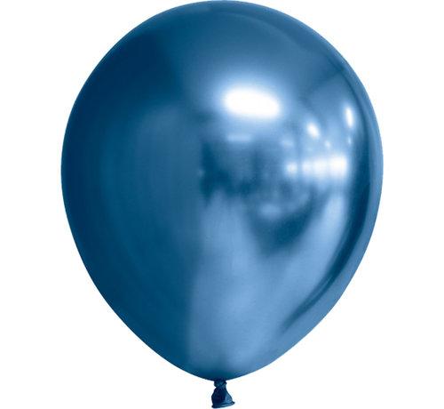 Latex blauwe chroom ballonnen