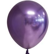 Paarse chroom ballonnen