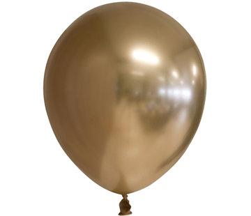 Goudkleurige chroom ballonnen
