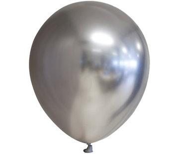 Chroom ballonnen zilverkleurig