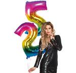 Cijfer ballonnen 86 cm