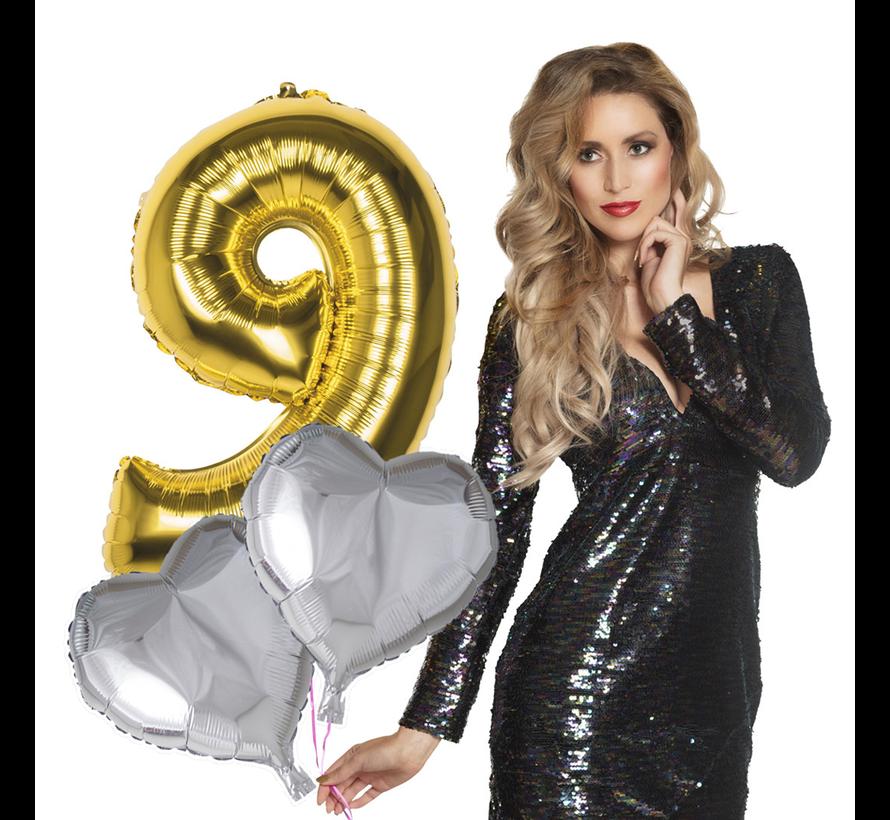 Cijfer boeket ballonnen versturen