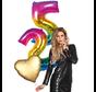 3 delig ballonboeket helium gevuld