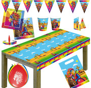 Indianen party set