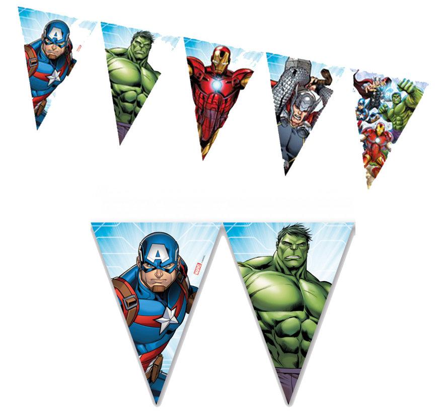 Plastic Mighty Avengers Vlaggenlijn