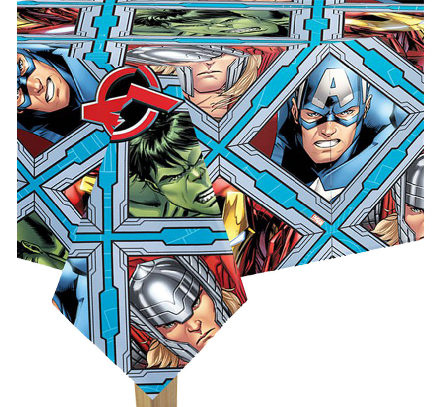 Plastic Avengers tafelkleed vochtbestendig