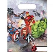 Avengers plastic uitdeelzakjes