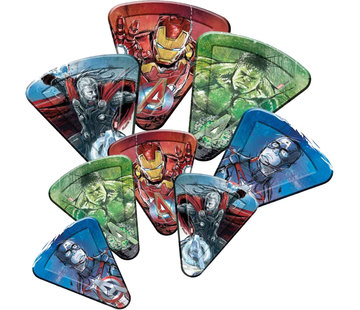 Avengers papieren pizzaborden